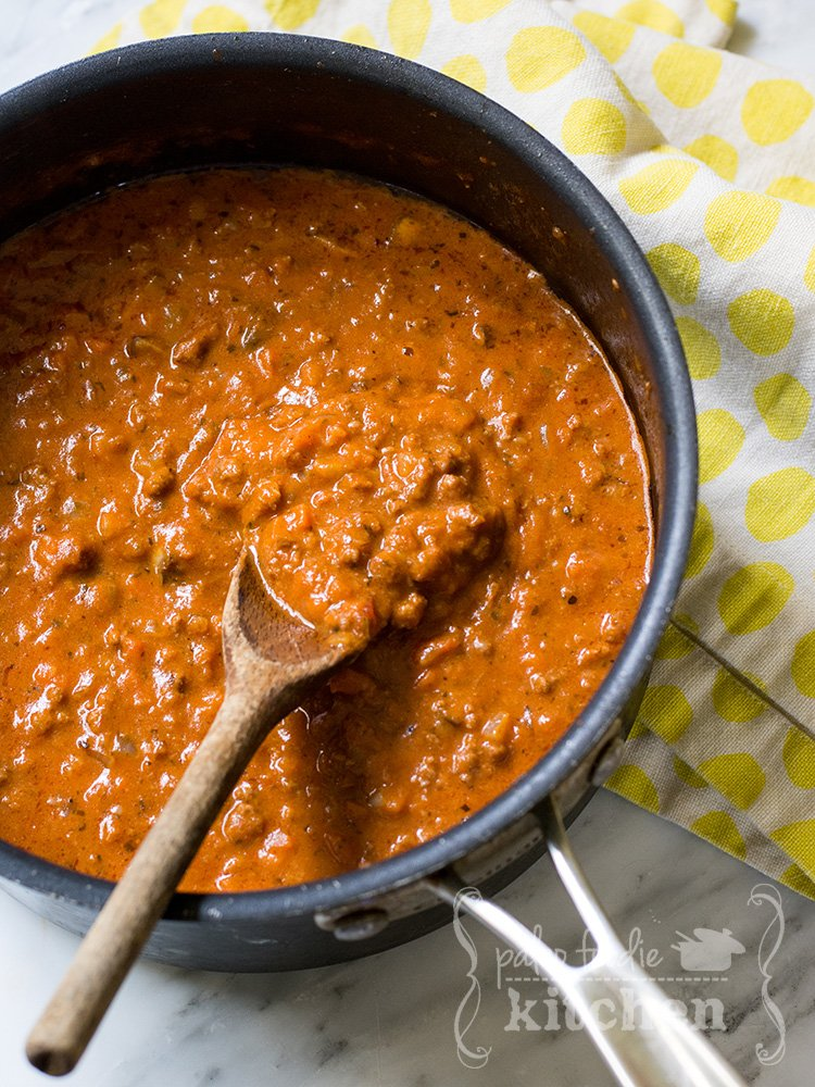 bolognese sauce cook and savor