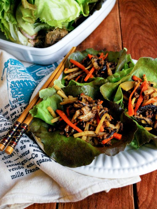 Lettuce Wraps | cookandsavor.com