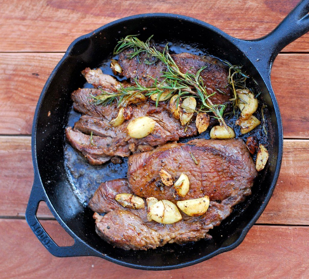 Pan Seared Steak 183 Cook And Savor