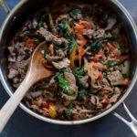 Thai Basil Beef   cookandsavor.com