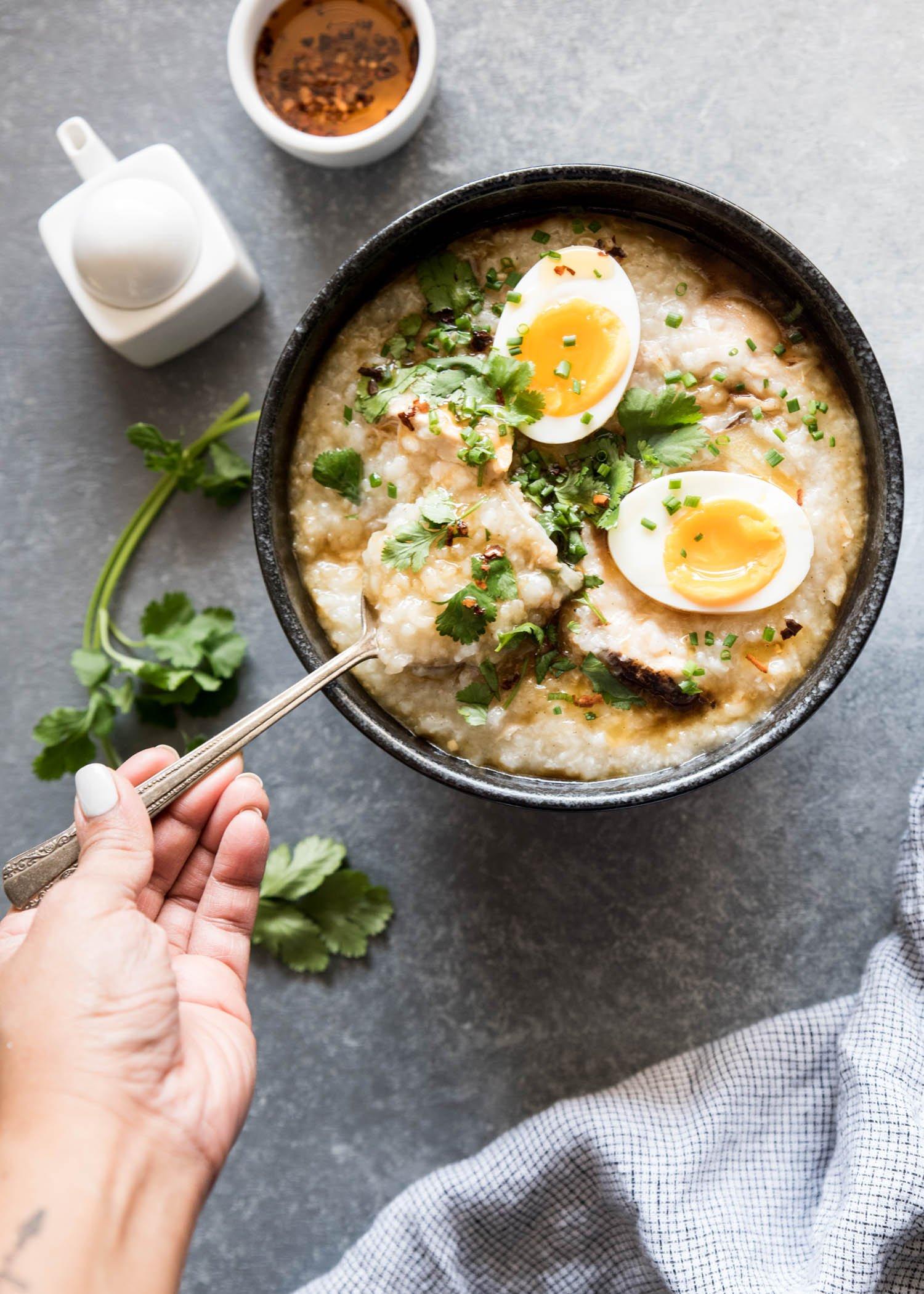 Instant Pot Congee | cookandsavor.com