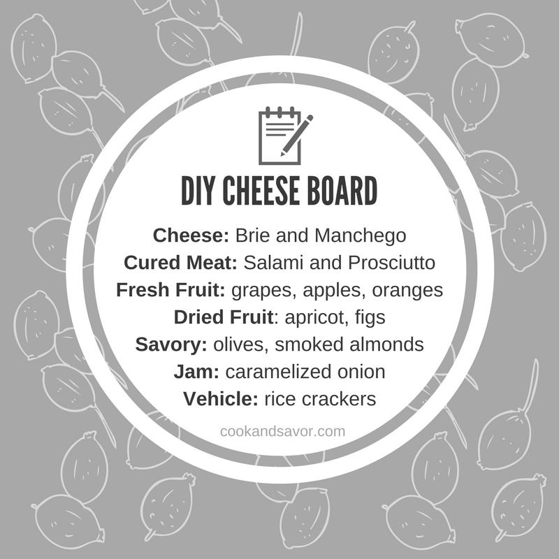 DIY Cheese Board | cookandsavor.com