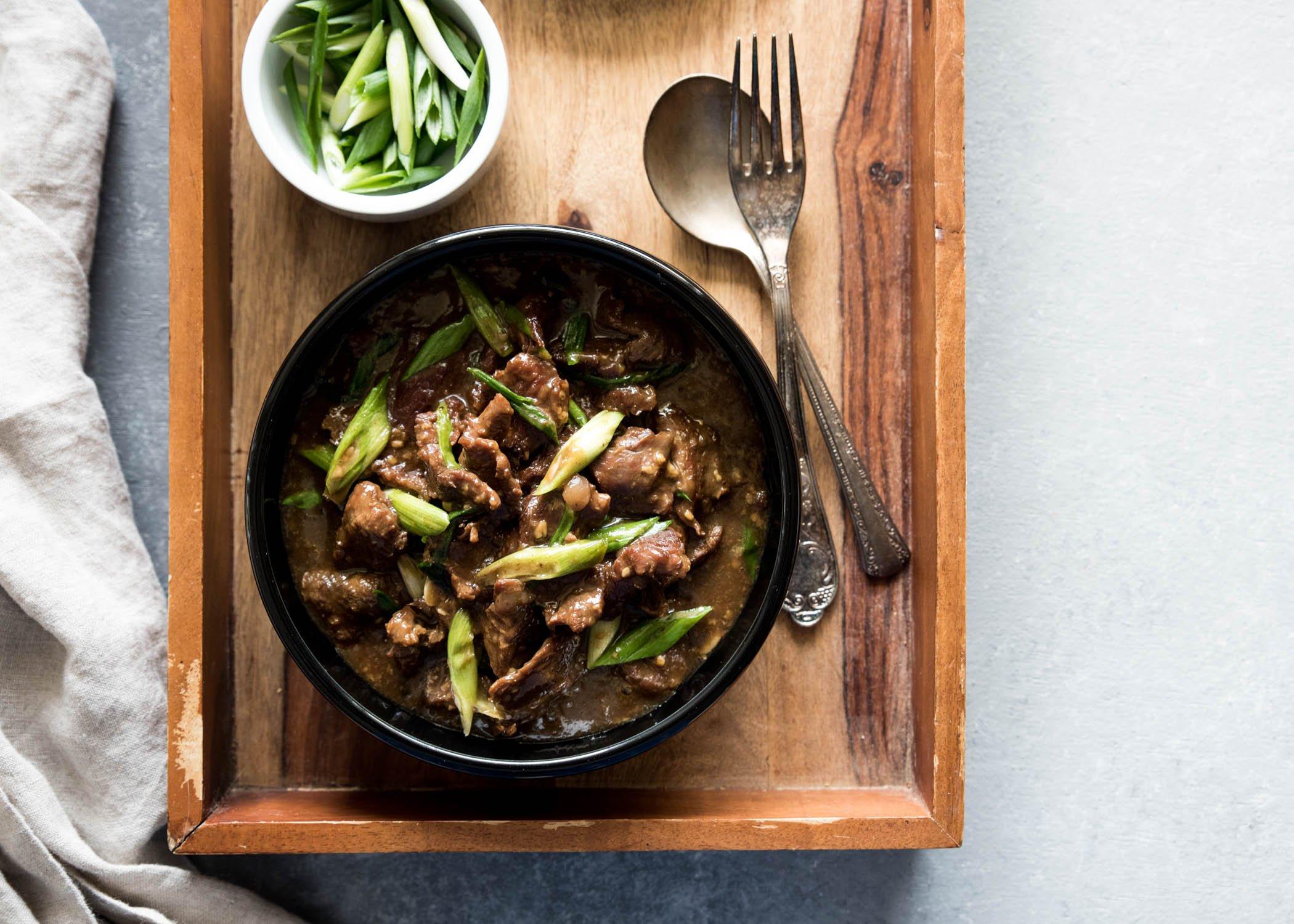 Mongolian Beef   cookandsavor.com