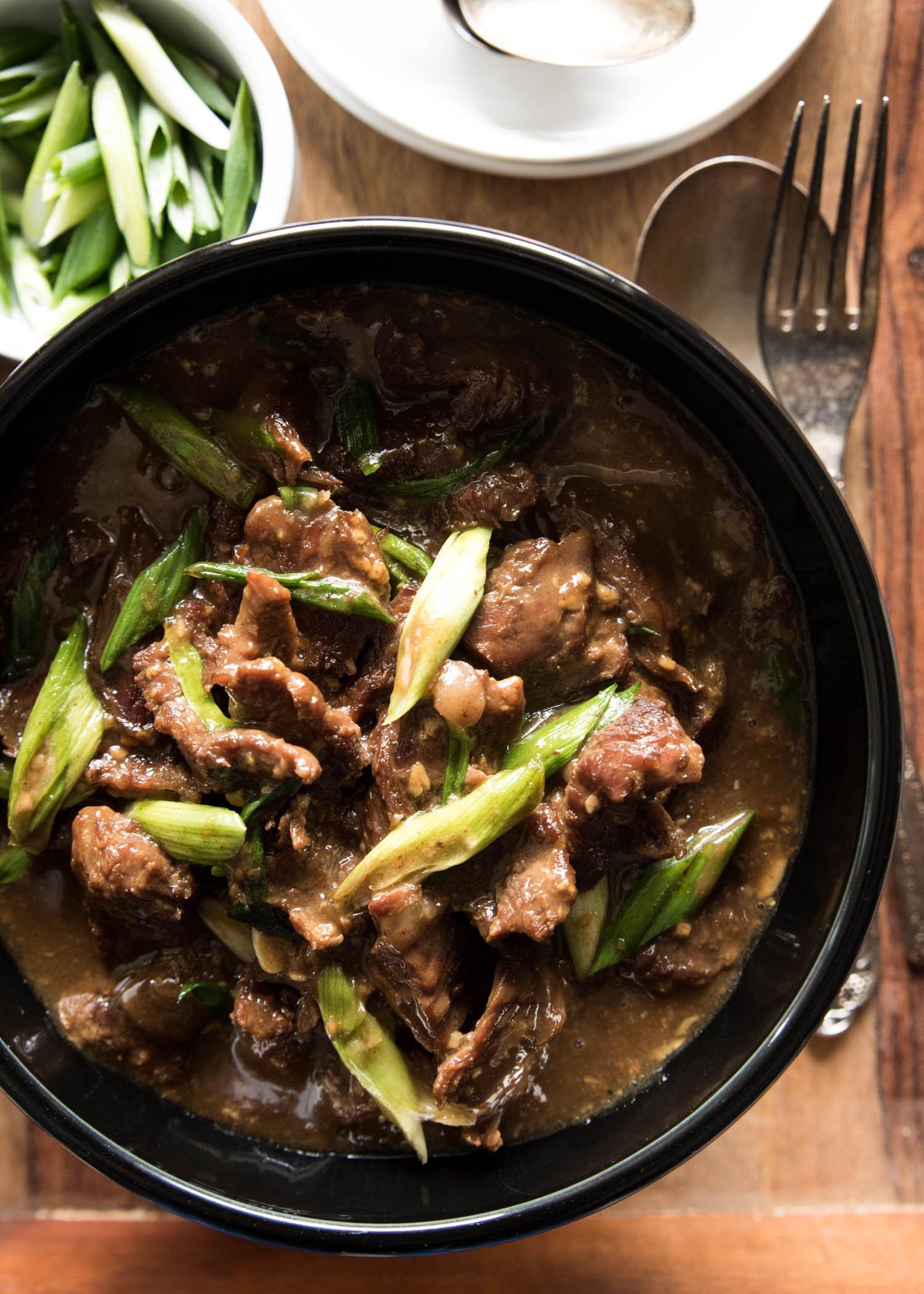Mongolian Beef | cookandsavor.com