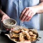 Garlic Parmesan Chicken Wings | cookandsavor.com