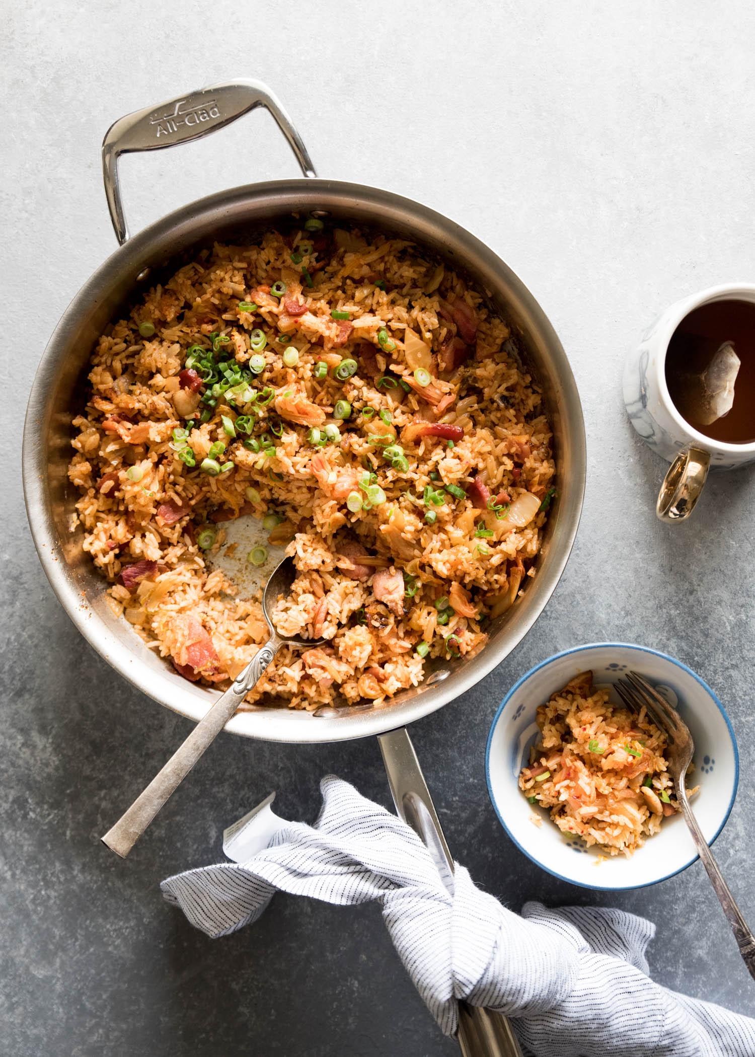 Kimchi Fried Rice | cookandsavor.com