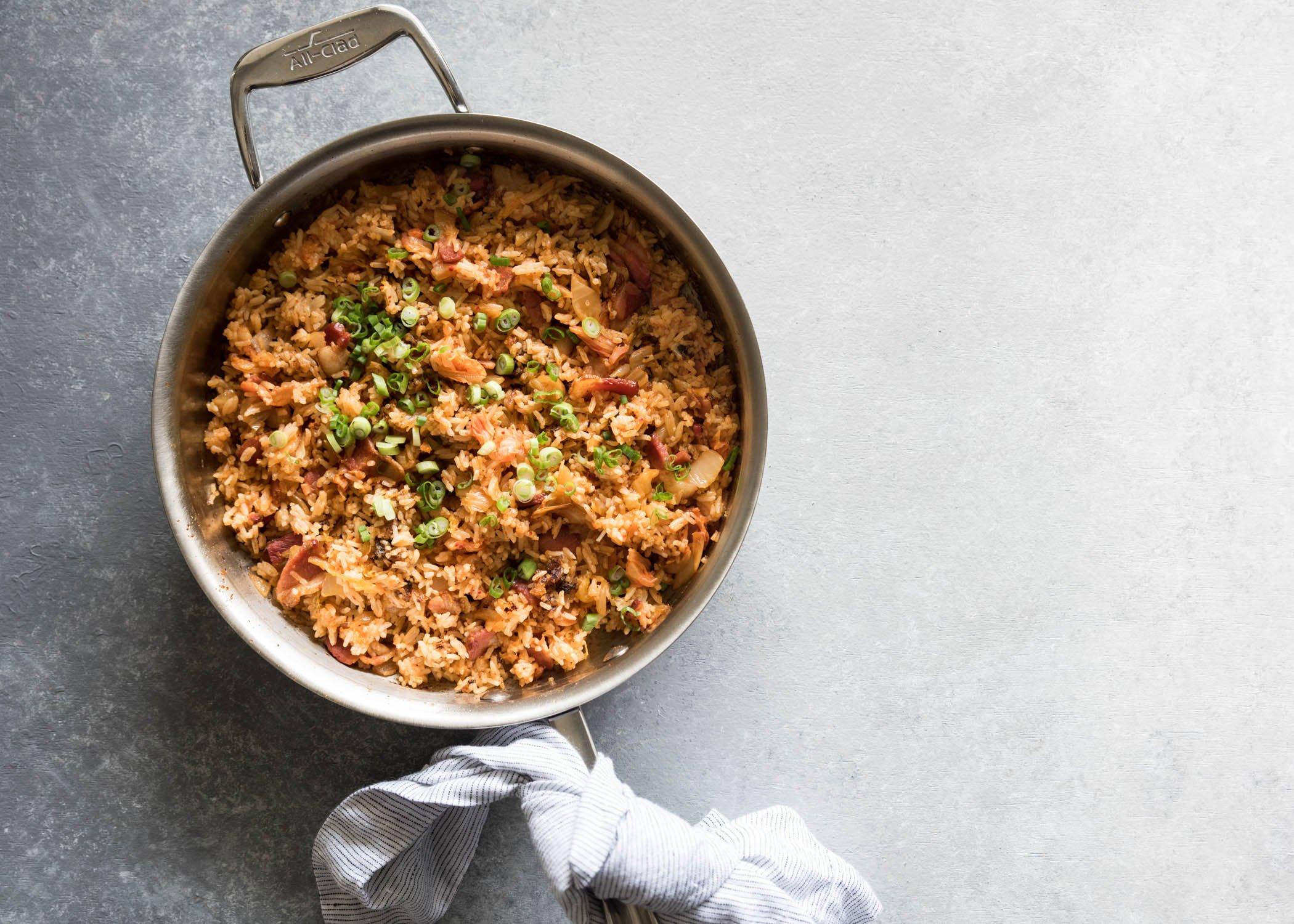 Kimchi Fried Rice   cookandsavor.com