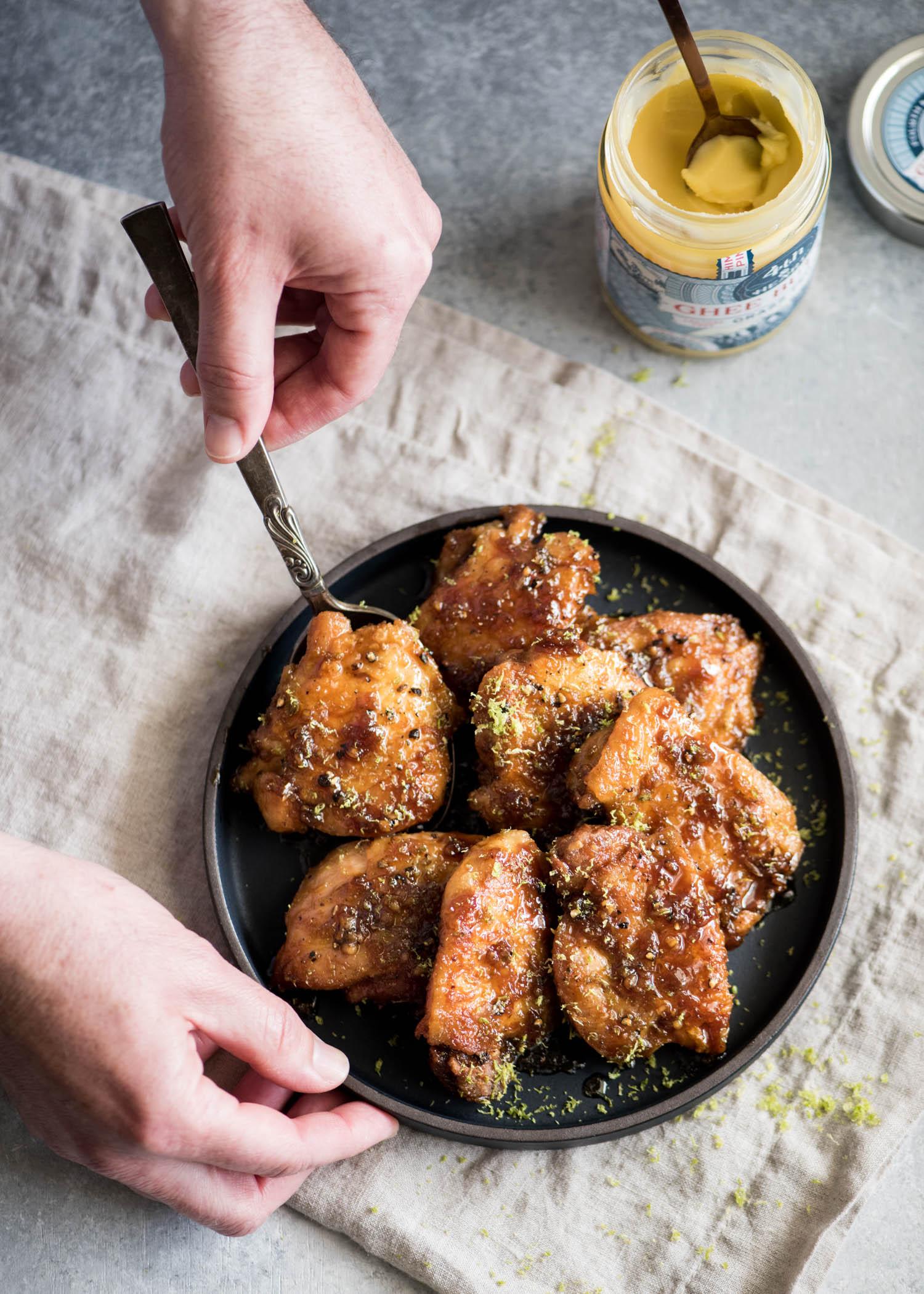 Honey Lime Chicken | cookandsavor.com