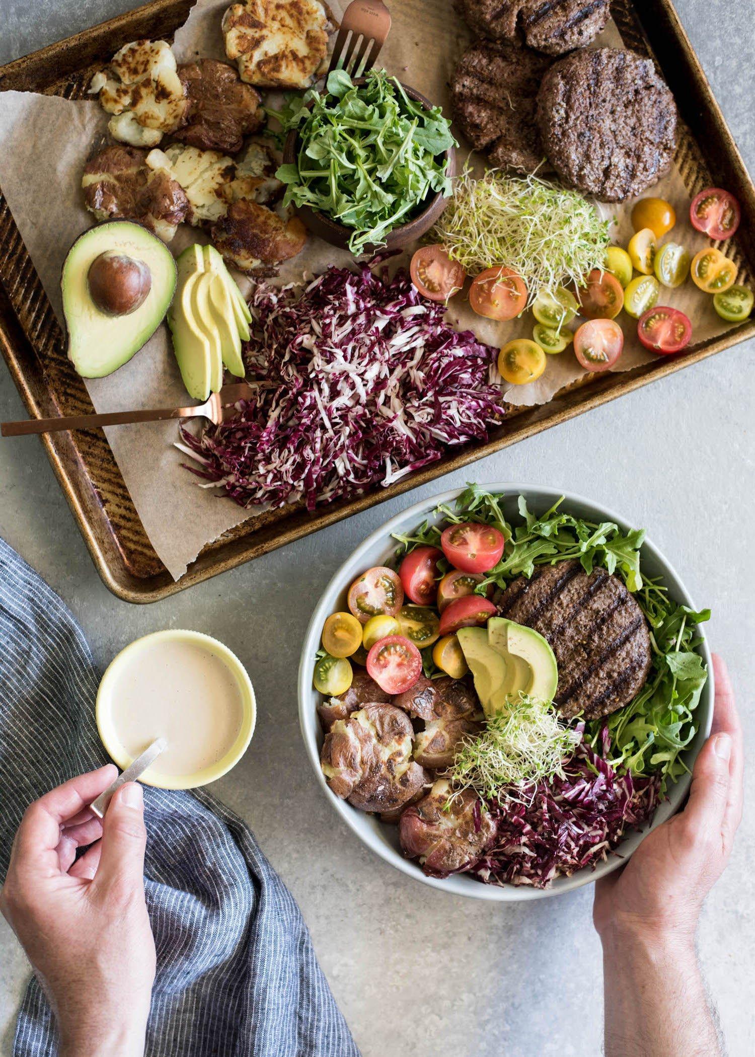Burger in a Bowl | cookandsavor.com