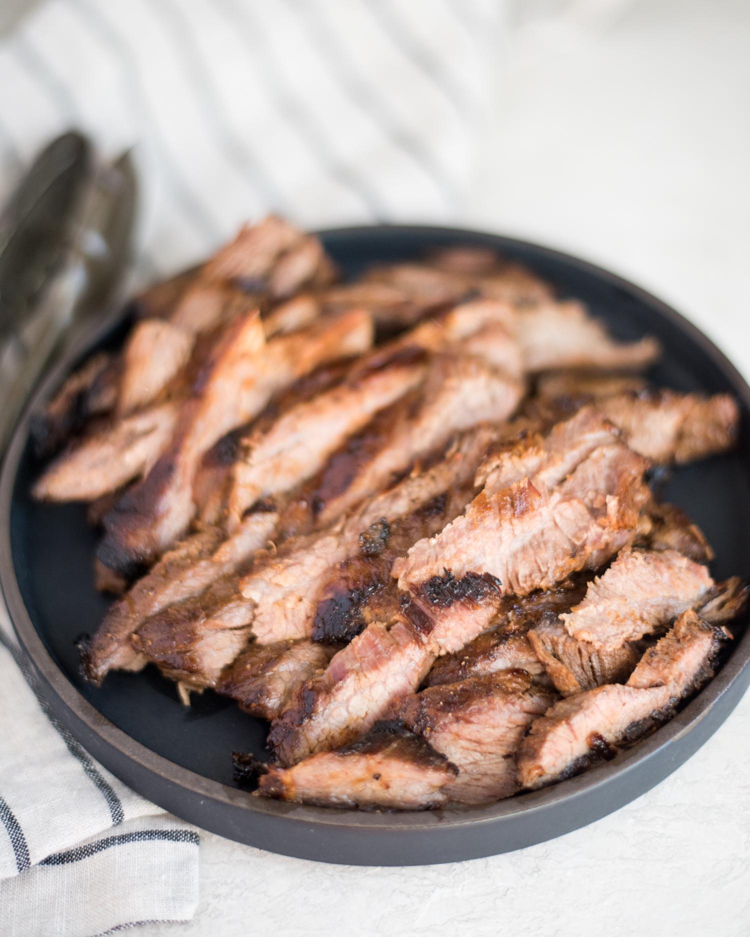 Air Fryer Flank Steak | cookandsavor.com