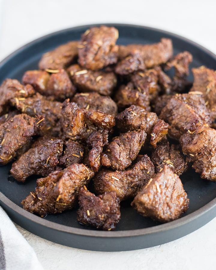 Air Fryer Beef Tips | cookandsavor.com