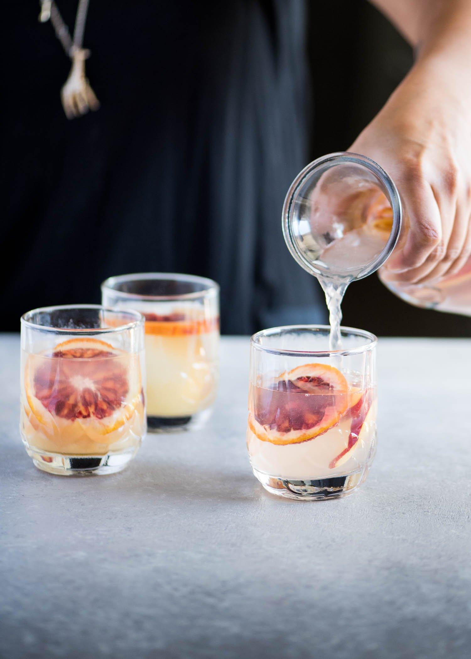 Blood Orange and Peach Sangria | cookandsavor.com
