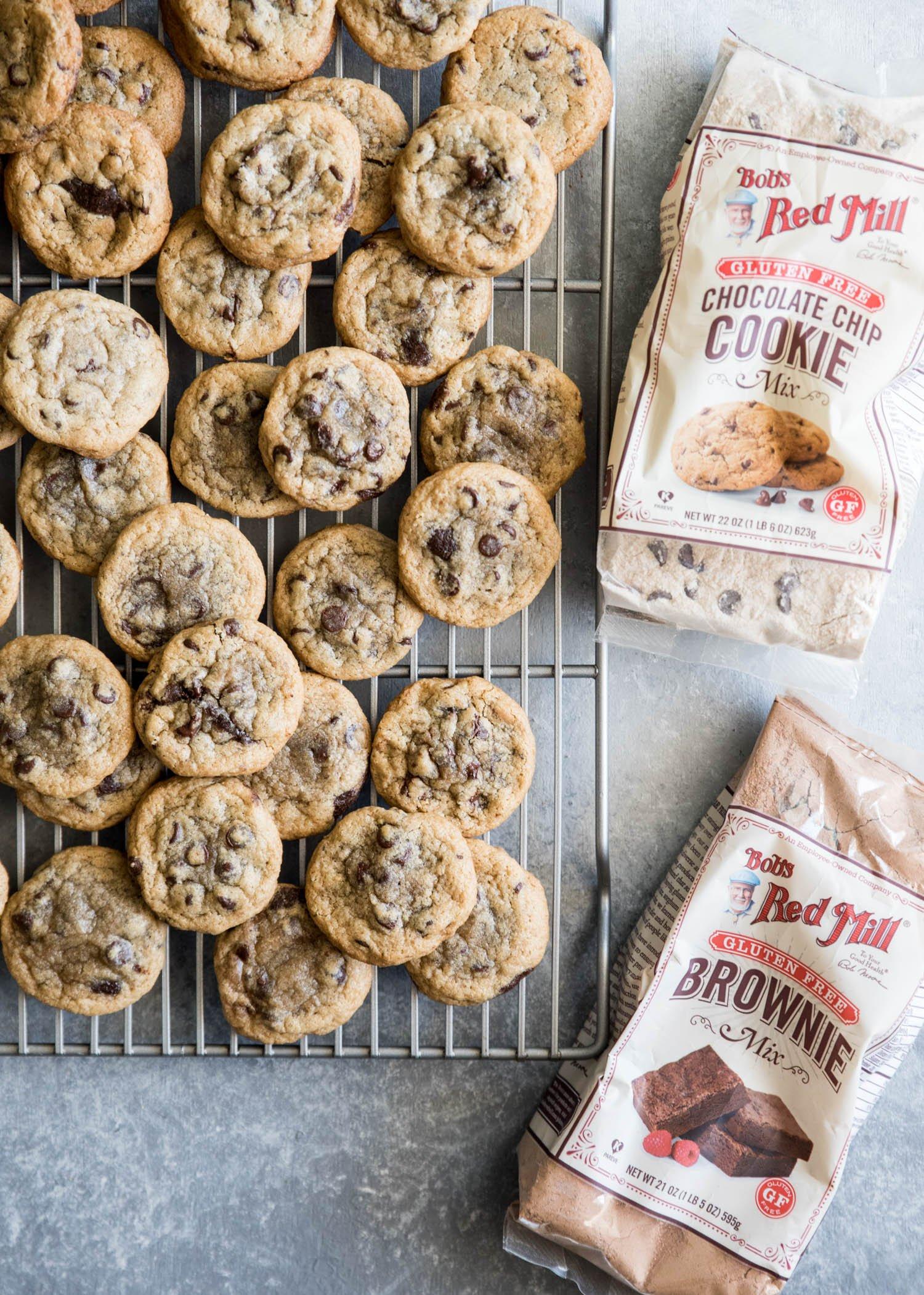 Brownie Stuffed Chocolate Chip Cookies | cookandsavor.com