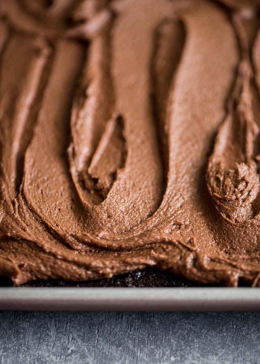 Double Chocolate Sheet Cake | cookandsavor.com