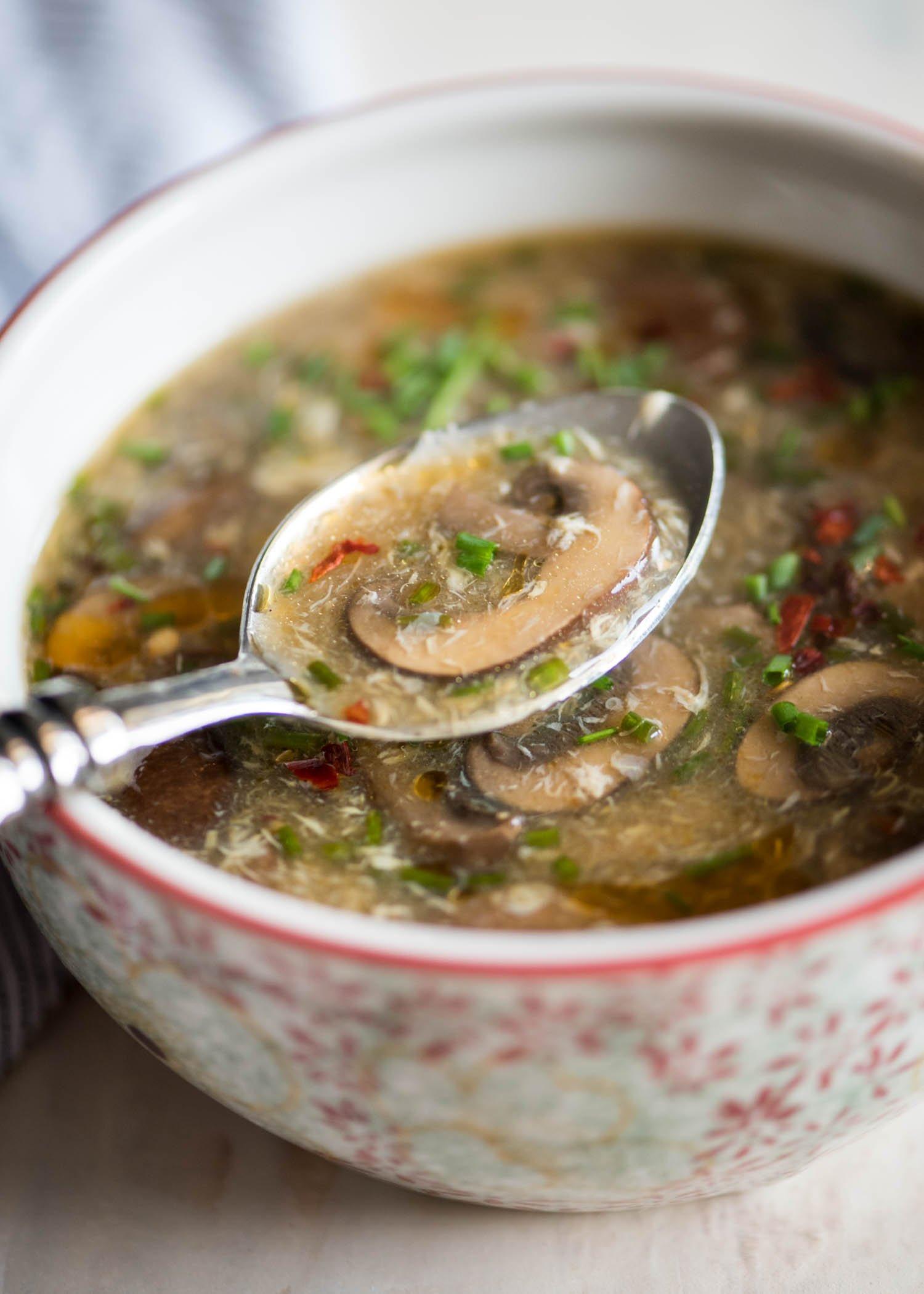 Hot and Sour Soup | cookandsavor.com