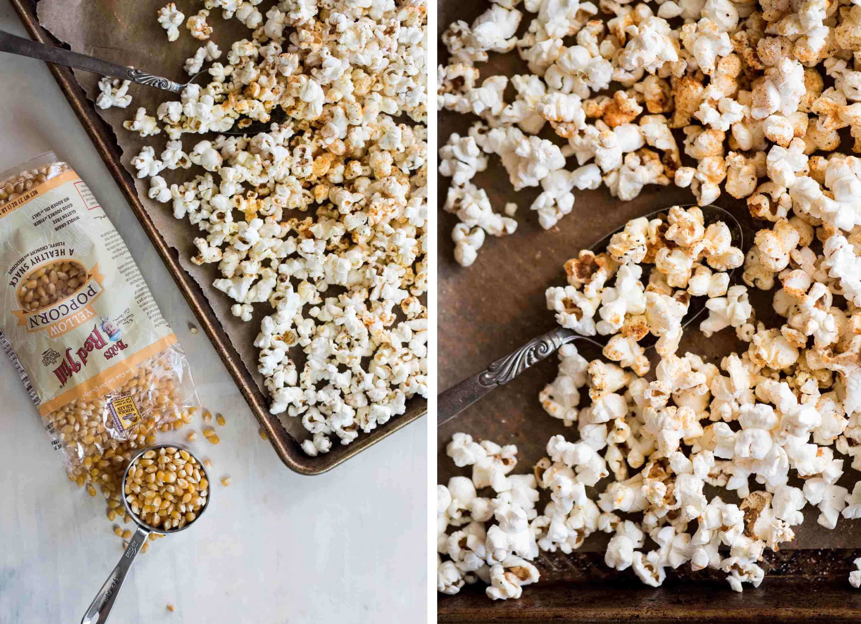 Spiced Homemade Popcorn | cookandsavor.com