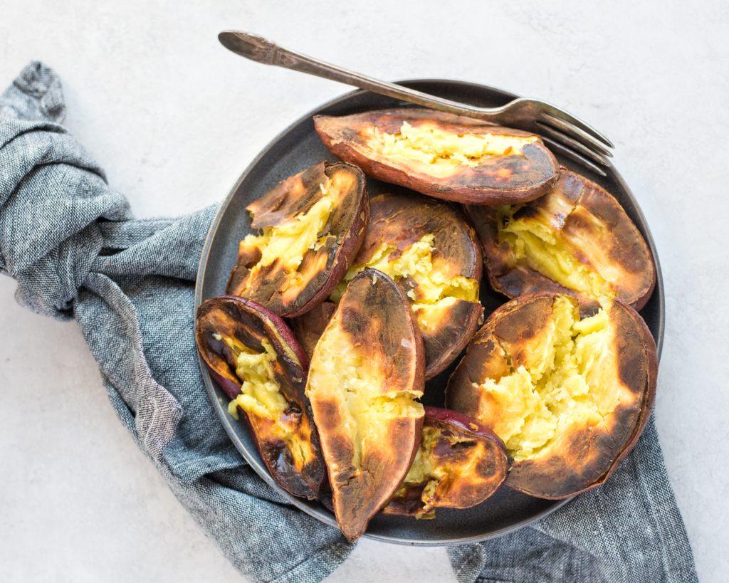 Roasted Sweet Potatoes | cookandsavor.com
